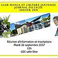 Clubs au cdi : réunion d'information