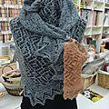 Une création en tricot...