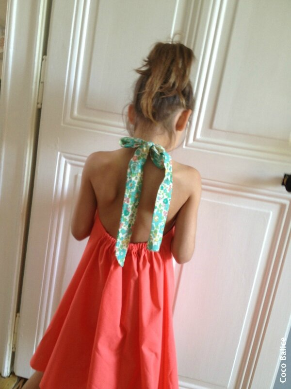 Couture robe fille 5 ans