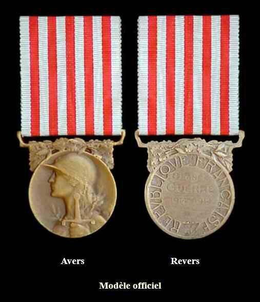 Les décorations militaires