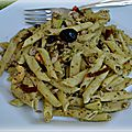 Salade de penne au pistou