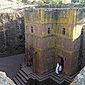 Ethiopie - visite de l'église saint-georges de lalibela
