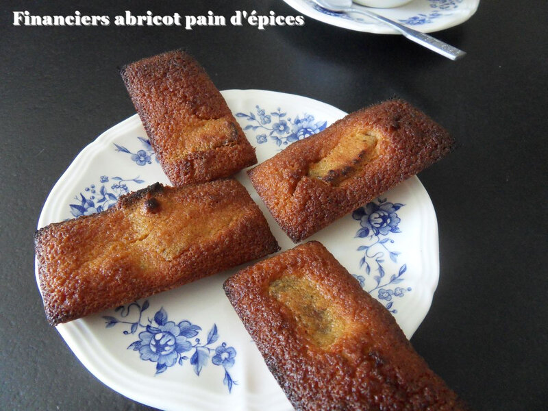 financier abricot pain d'épices