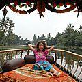 détente sur les backwaters à Allepy
