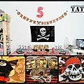 Joyeux anniversaire.....mon pirate!
