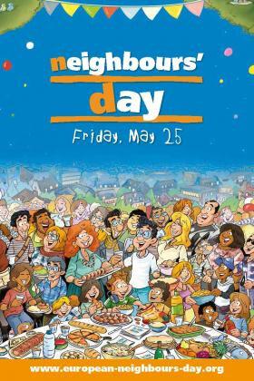 La fête des voisins, c'est demain ! The european neighbours'day, it's tomorrow !