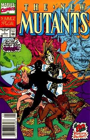 new mutants summer special 1990