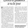 00 - Revue de presse