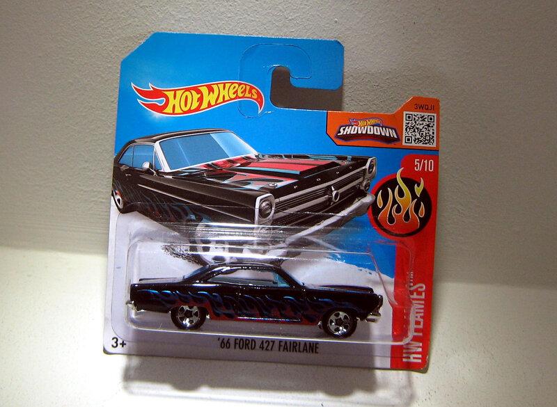 Ford fairlane 427 de 1966 (Hotwheels 2016)