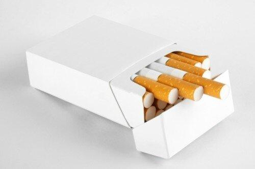 Paquet neutre tabac