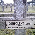 Confolant albert (saint hilaire sur benaize) + 02/05/1915 mesnil la tour (54)