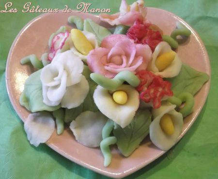 bouquet pâte d'amandes