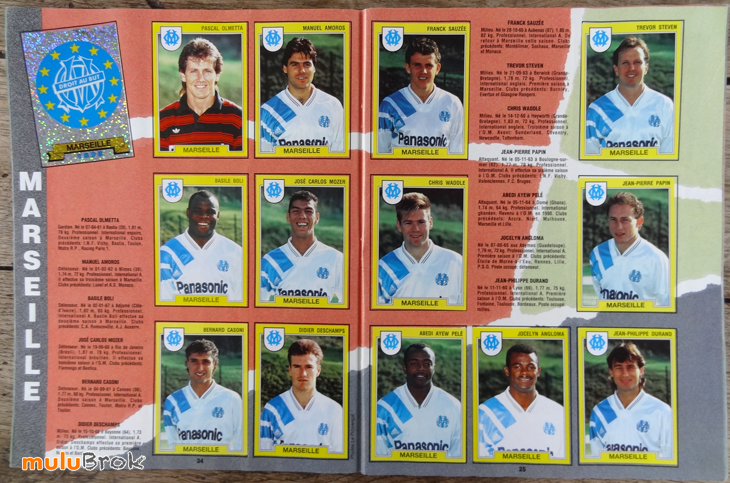 PANINI-FOOT-92-football-MARSEILLE-muluBrok