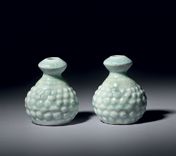 Two_miniature_qingbai_porcelain_vases__China__Song_dynasty__12th_13th_century