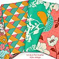 tissu fat quarter lot 1