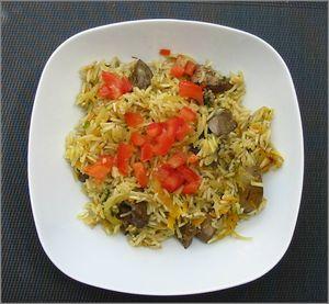Riz pilaf persan