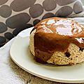 Bowlcake - sans gluten ni oeuf & protéiné