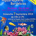 Bourse aquariophile bordelaise