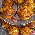 Muffins pommes yaourt