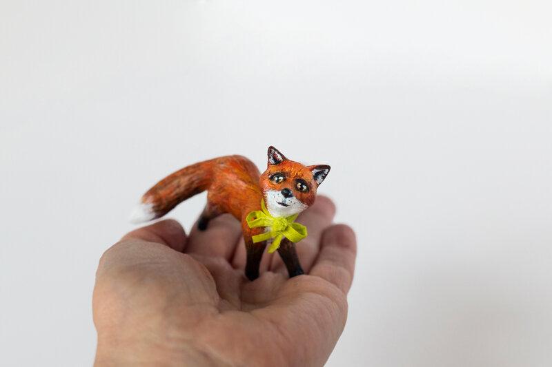 Fox3_PapierMache_Sculpture_AlinePallaro_2018