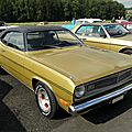 Plymouth duster fastback coupe-1972