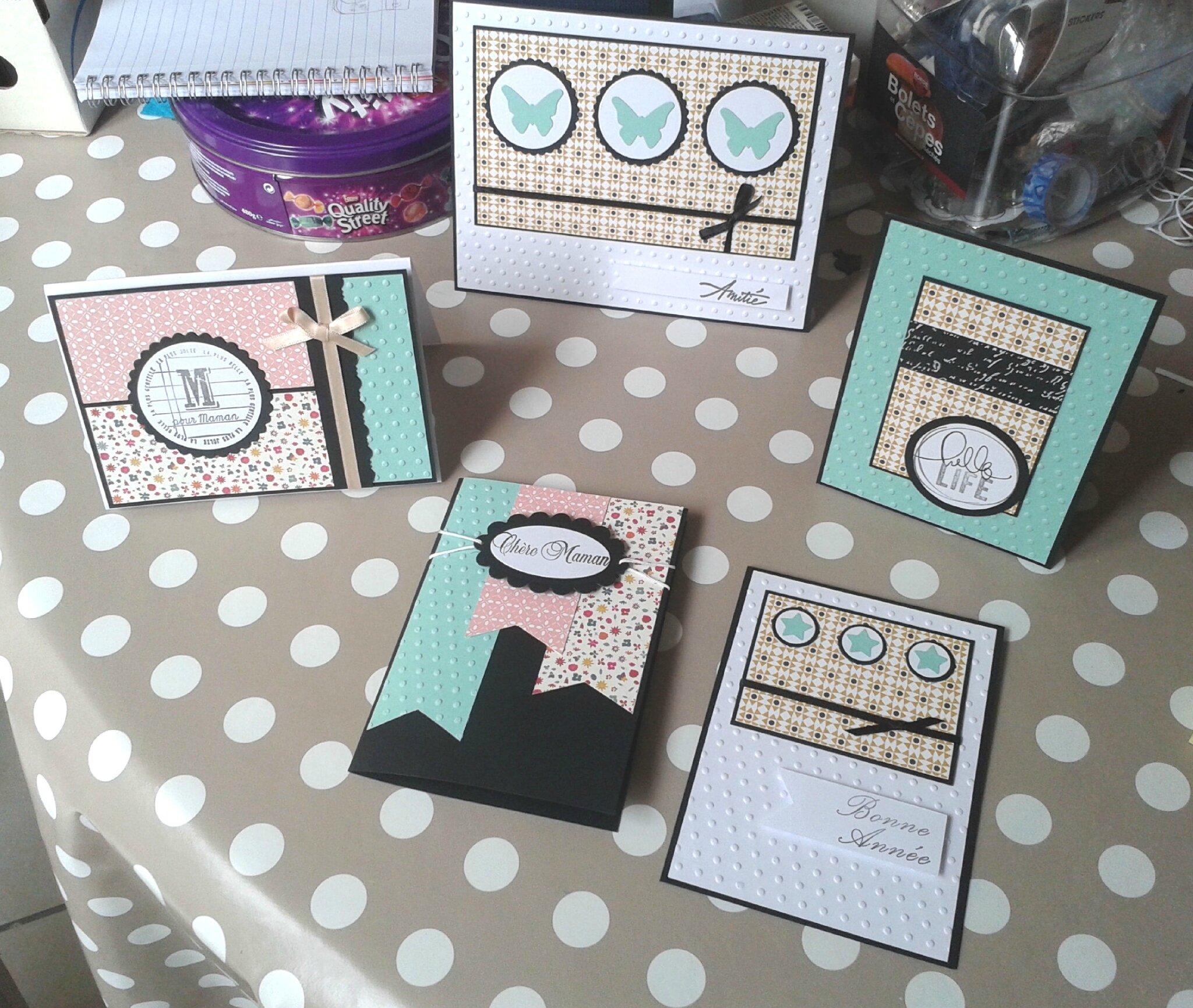 serie cartes paper pad