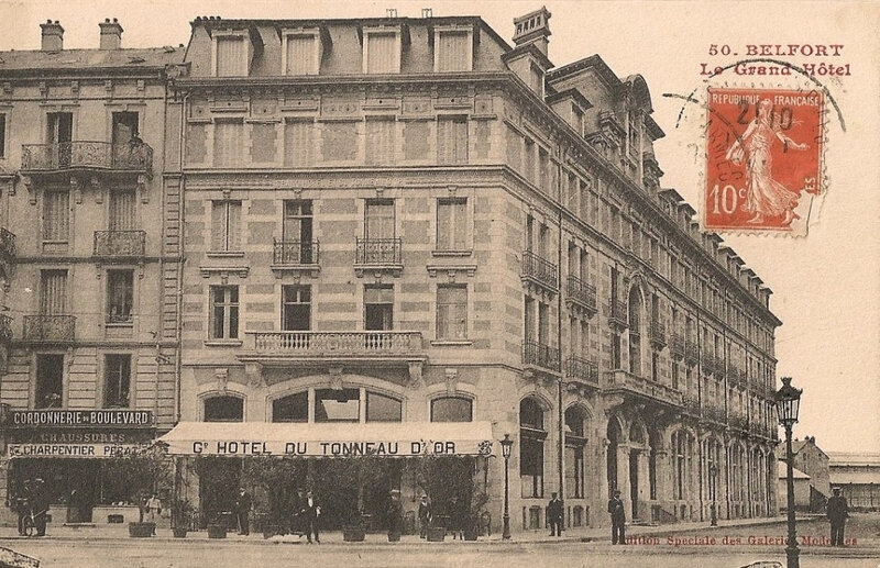 Belfort CPA Bd Carnot n°11 Grand Hôtel Cordonnerie