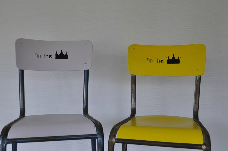 Chaises KING & QUEEN - 1