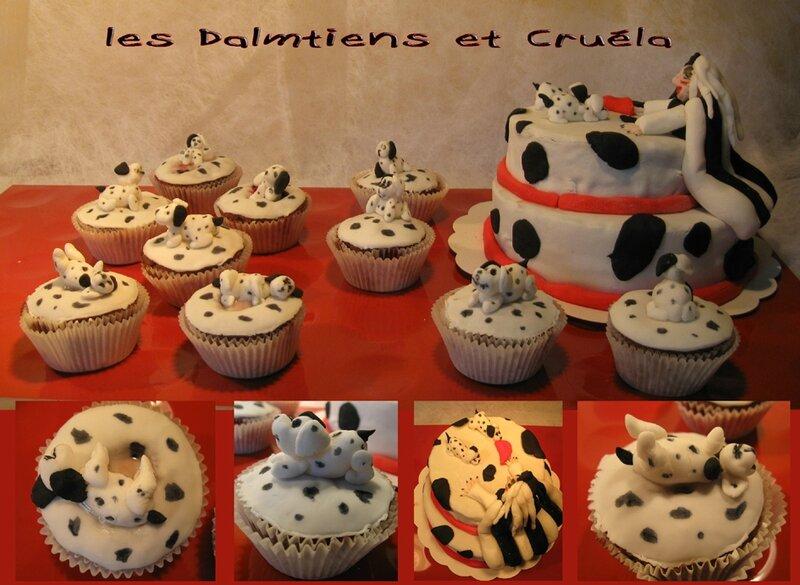 Les Dalmatiens & Cruella