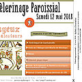 Pèlerinage paroissial 2018