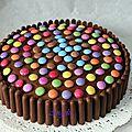 Gâteau damier - sans moule spécial