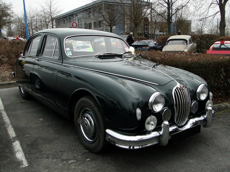 jaguar 2,4 litre mark 1 saloon 1955 1959 a
