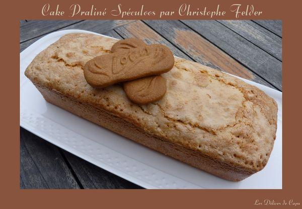 Cake praliné spéculoos par Christophe Felder3