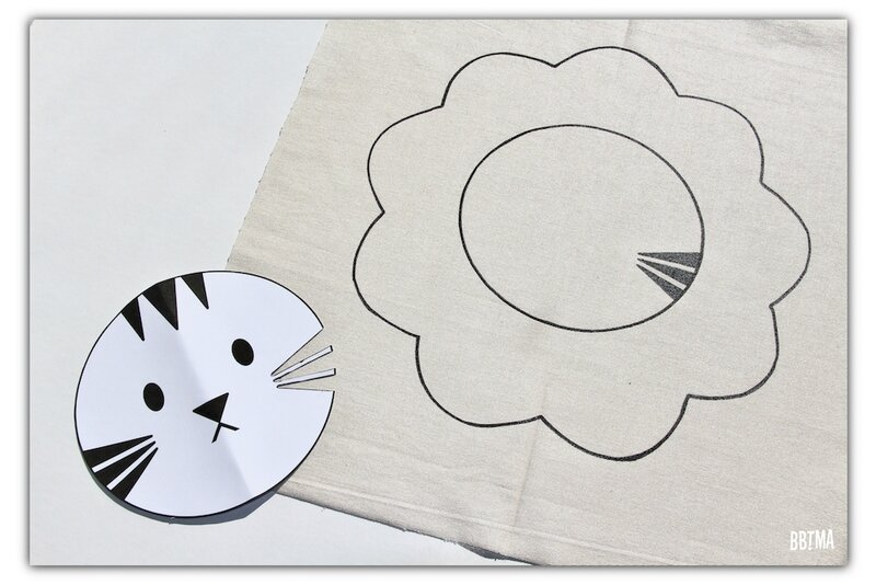 6 diy tuto coussin giotto feutre textile decor enfant dessin kids by bbtma le blog