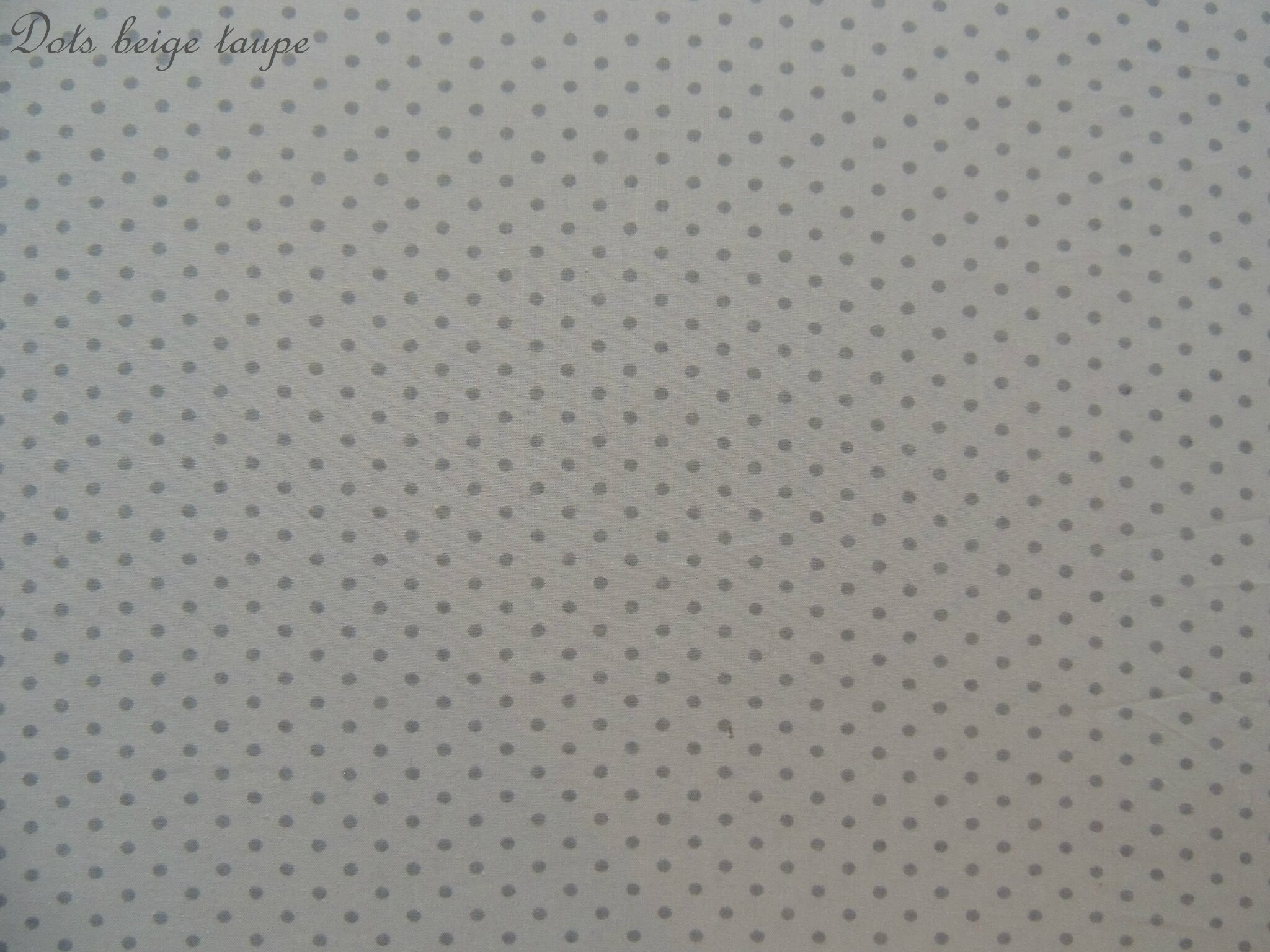 Dots beige taupe