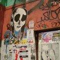 dessins sur les murs du Kunsthaus Tacheles