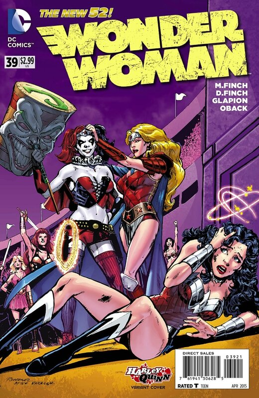 wonder woman 39 harley variant