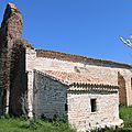 Eglise Saint Juin sous le soleil printanier ...
