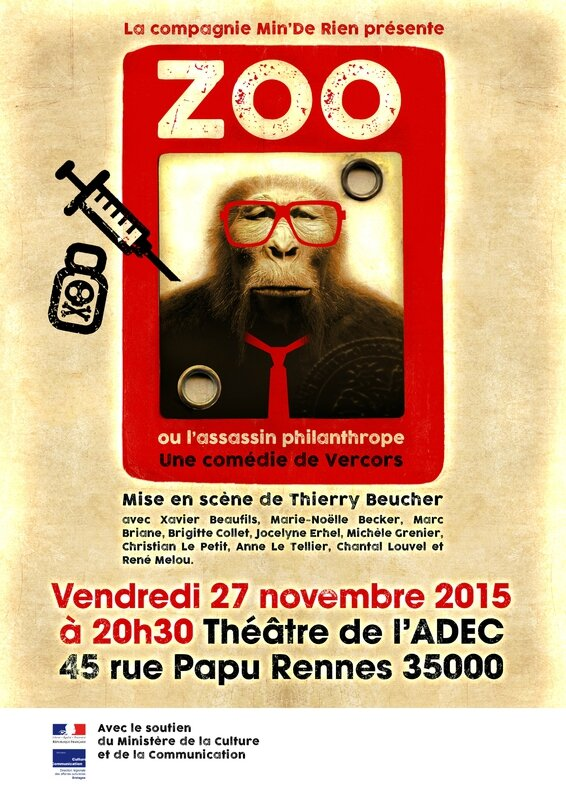 affiche zoo 27nov2015 Bis