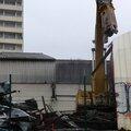 Désamiantage et démolition des entrepôts pomona