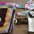 Vos derniers dons hier après midi chez paul : tricots et couture.