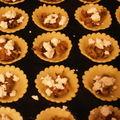 Tartelettes feta oignons rouges