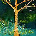 Être (huile sur toile - 100x73cm)