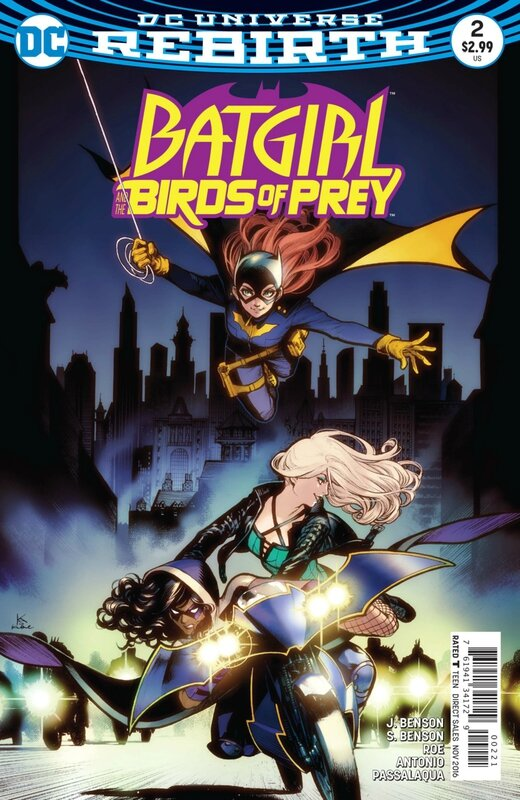 rebirth batgirl and the birds of prey 02 variant