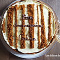 Entremet au fromage blanc, vanille et spéculoos