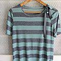 Tee-shirt rayé pour l'été...