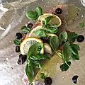 Filet de daurade royale aux olives