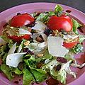 Salade de tomates a ma façon