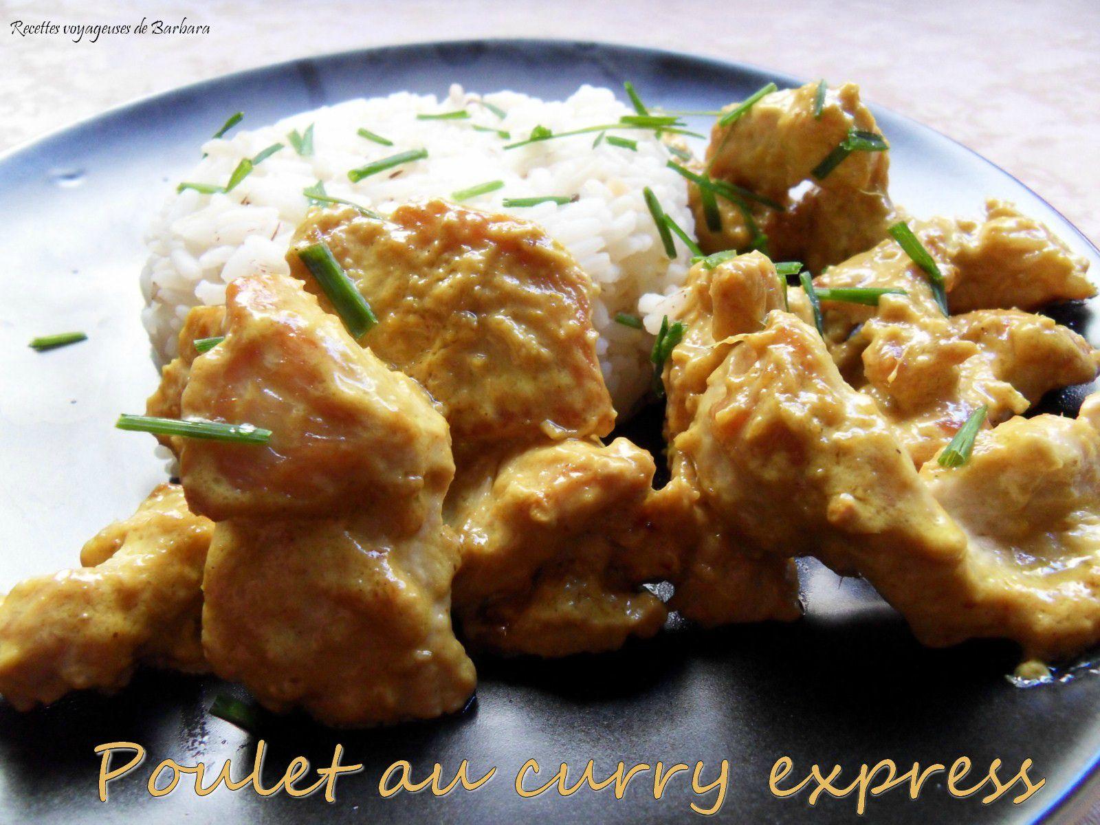 poulet au curry express1