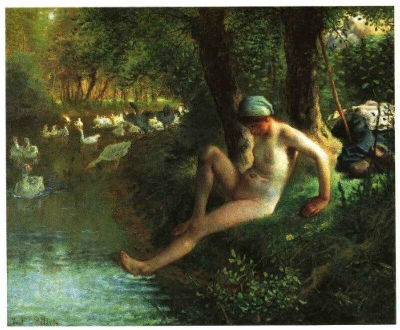 Millet-le-bain-de-la-gardeuse-d--oies